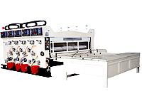 Máquina impressora flexógrafica com 3 cores e entalhadeira série XT-L